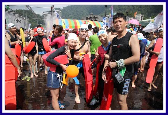 101.09.16 泳渡日月潭 10