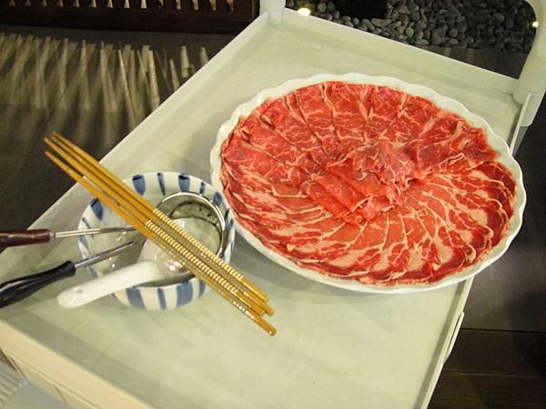 牛肉花紋很美
