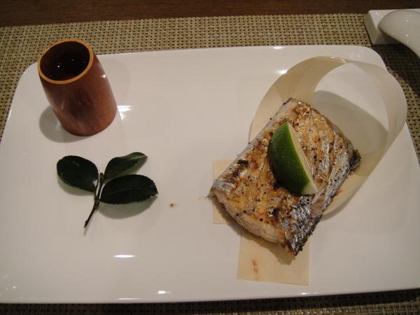 鹽烤油帶魚