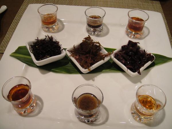 海菜們--茶樹海菜、鹿角菜、海菜