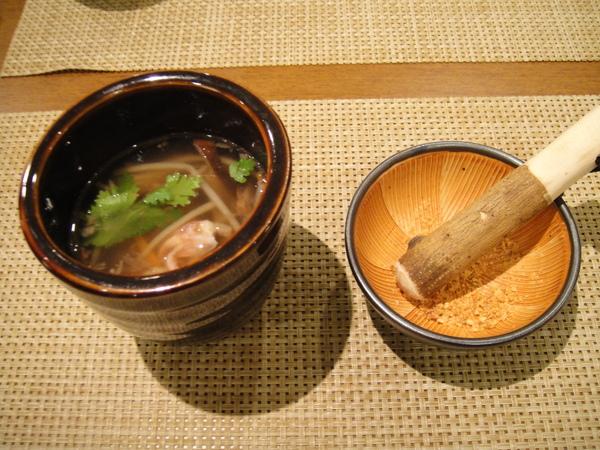 鮮卷米粉湯