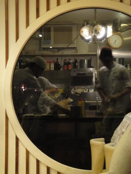 透明的廚房