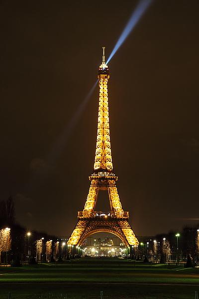 巴黎鐵塔夜拍