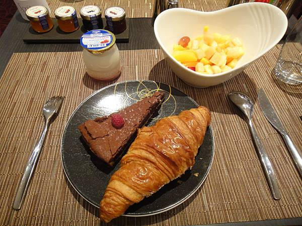 最後一餐豪華早餐啦