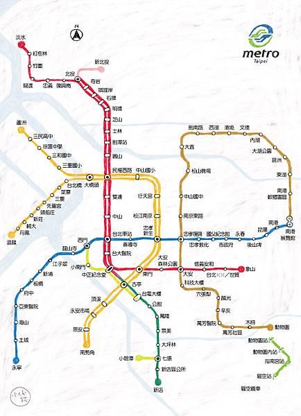 台北捷運-01