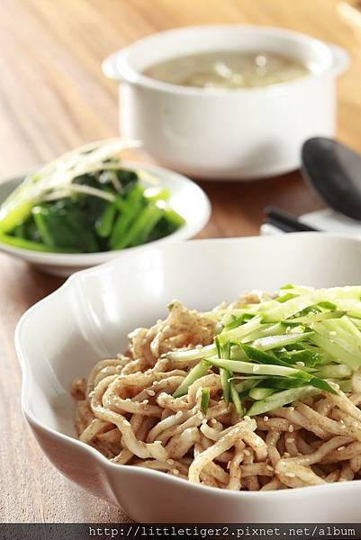 麻醬溫潤麵