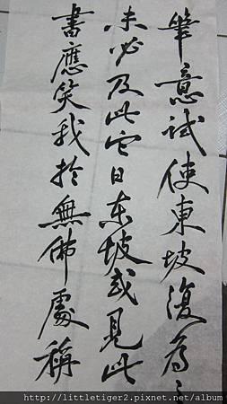 跋東坡寒食帖 (2)