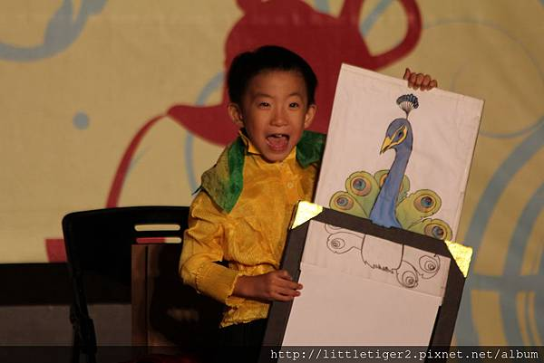 5歲的道順表演魔術