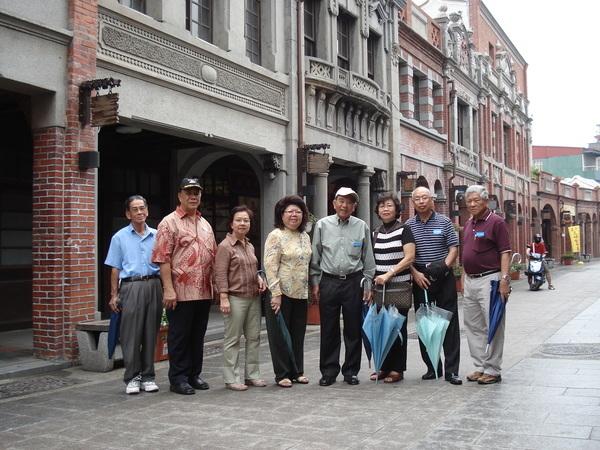 台北三峽老街一角,能發思古幽情。
