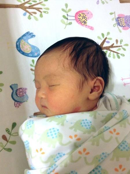 寶寶睡得香甜0925