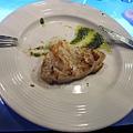 海鮮:煎鮭魚