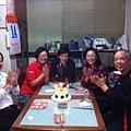 12/14先暖壽,慶祝第二天爸比生日,祝福壽星健康平安順利.