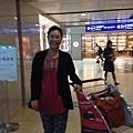 飛行近日,終於到達華盛頓杜樂斯機場。