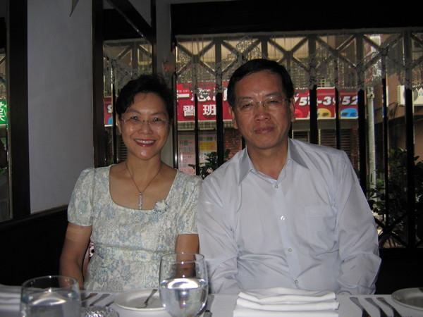 0810慶生兼賀爸爸節,我們四個人聚餐在台塑聯一牛排館。08/08/10