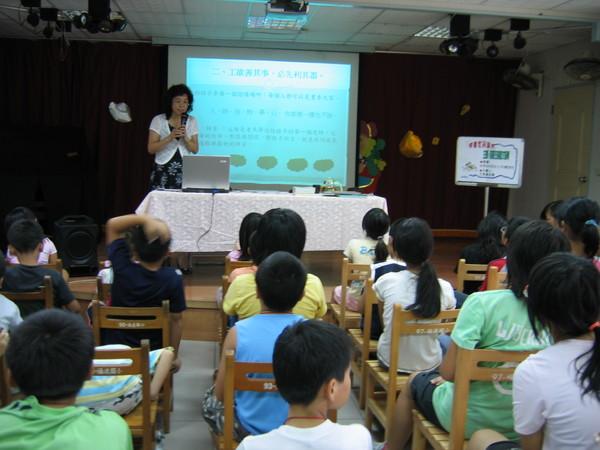 教育是希望,教育是未來,一場小講座就是幸福的觸發。