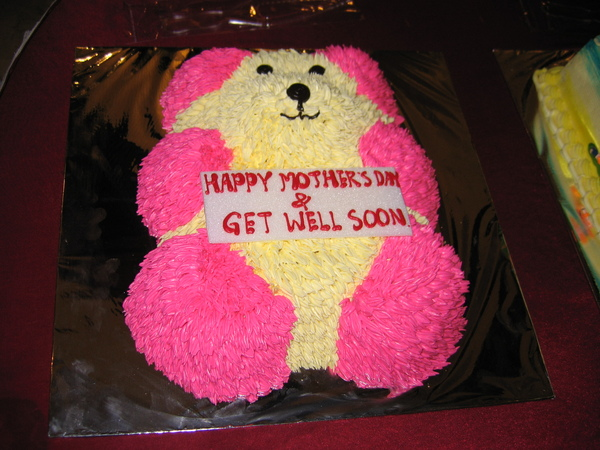 這熊熊蛋糕是給阿嬤的母親節蛋糕