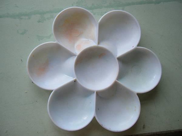 梅花調色盤