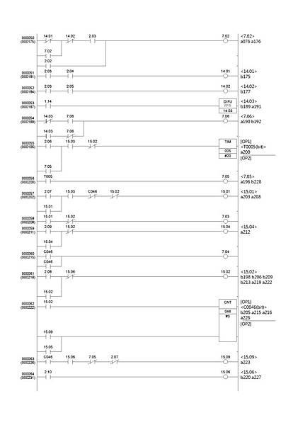 滾筒式播種機PLC程式4