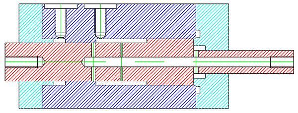 活塞式氣壓震盪器設計圖1