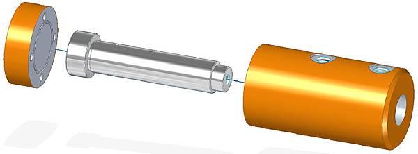 活塞式氣壓震盪器設計圖4