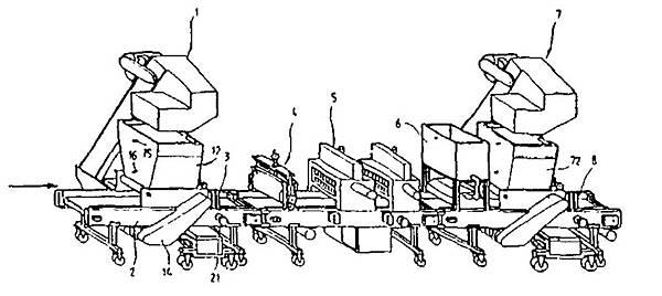 滾筒式播種機含周邊設備規劃圖