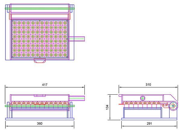 簡易水耕播種機設計圖