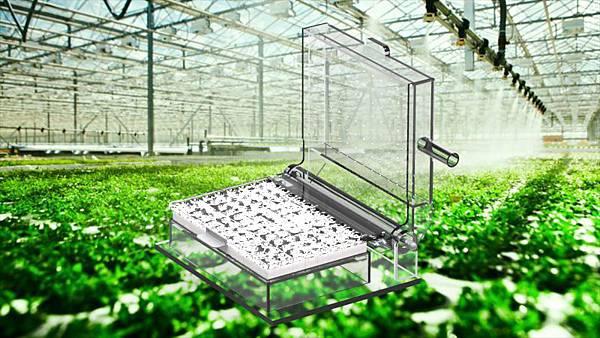 簡易水耕播種機