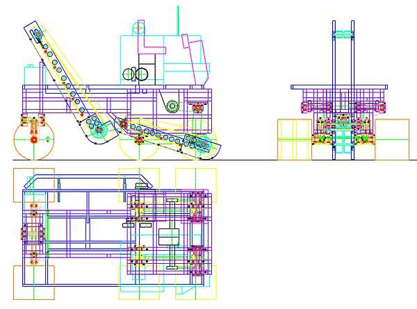 文蛤採收車改良設計圖