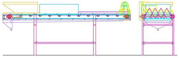 文蛤漂白清洗機試驗機設計圖