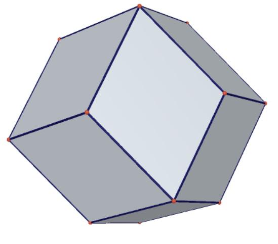 菱形十二面體畫法01