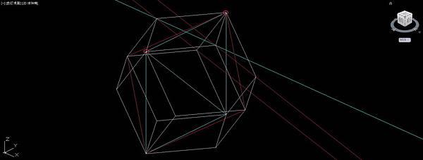 菱形十二面體畫法11