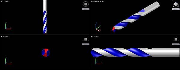簡易螺旋鑽頭畫法09