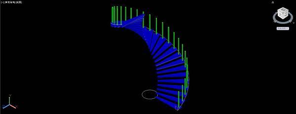 螺旋梯畫法12