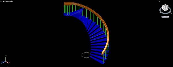 螺旋梯畫法13