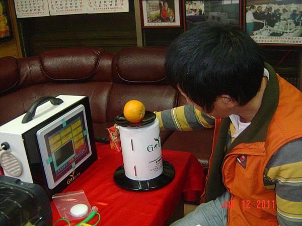 手提水果檢測機商品機6