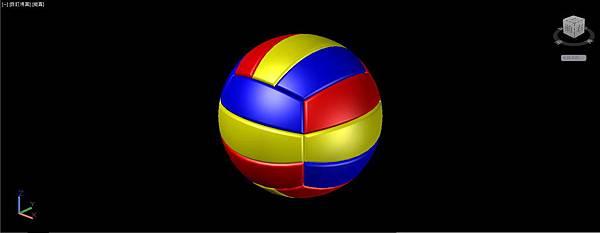 排球畫法30
