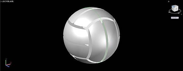 排球畫法19