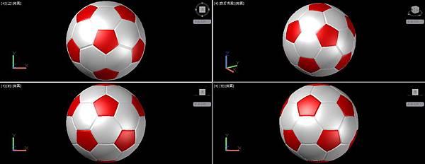 足球畫法45