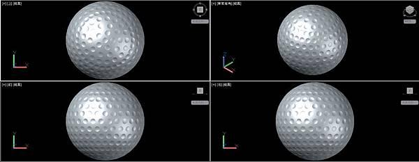高爾夫球畫法15
