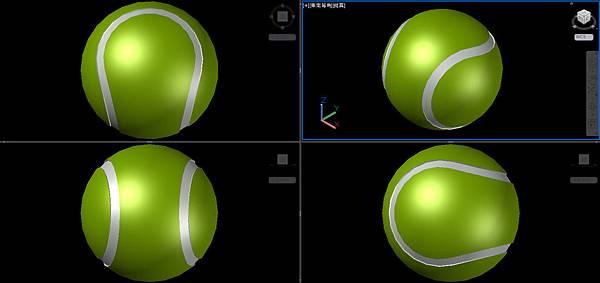 網球畫法10