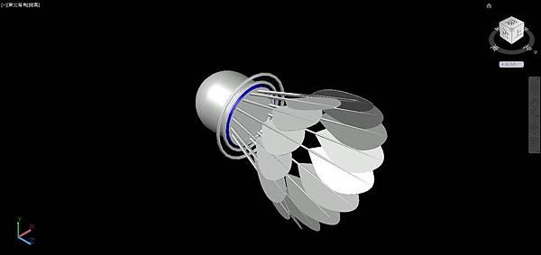 羽毛球畫法26