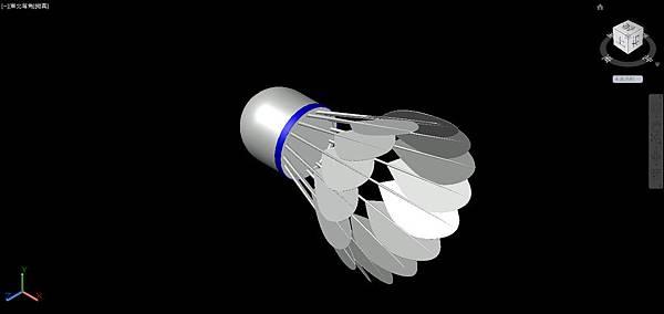 羽毛球畫法25