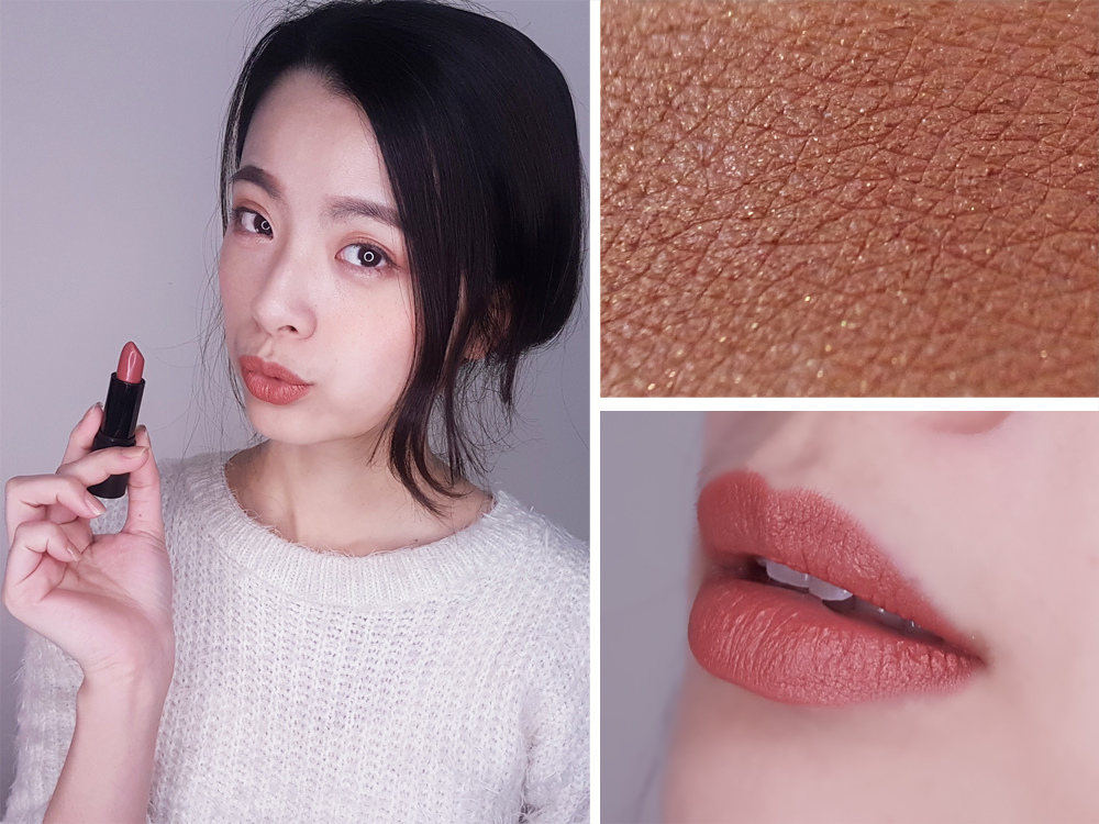 MALISSA-KISS-霧面絲絨啞光唇膏試色愛美購#03蜜糖玫瑰9.jpg