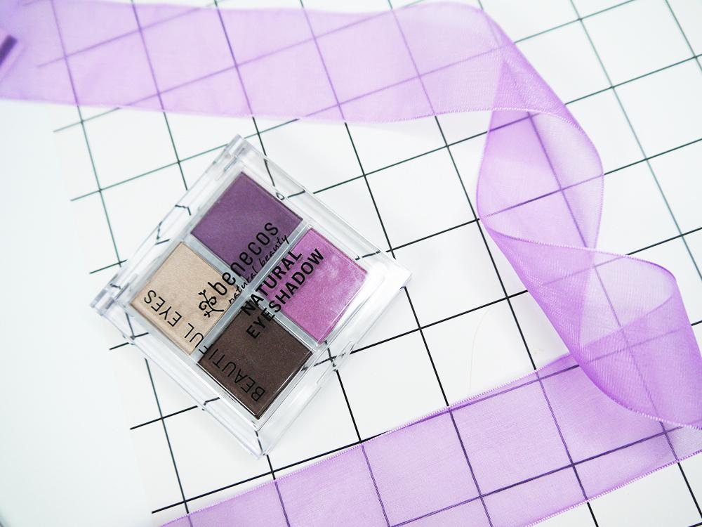 蓓蓓荷娜-唯有機-恆久奪目四色眼影盤-紫醉情謎試色推薦12.jpg