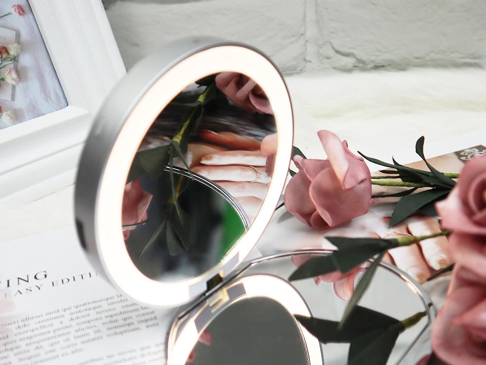 Midea美的口袋化妝鏡-隨身鏡-放大鏡子-補光燈鏡-美妝鏡推薦評價18.jpg