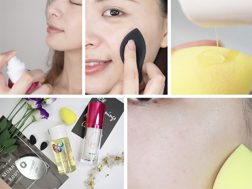 BeautyBlender原創美妝蛋-歡樂黃-吸油補妝海綿-專用清潔液-閃耀晨曦]亮采喚顏噴霧1.jpg