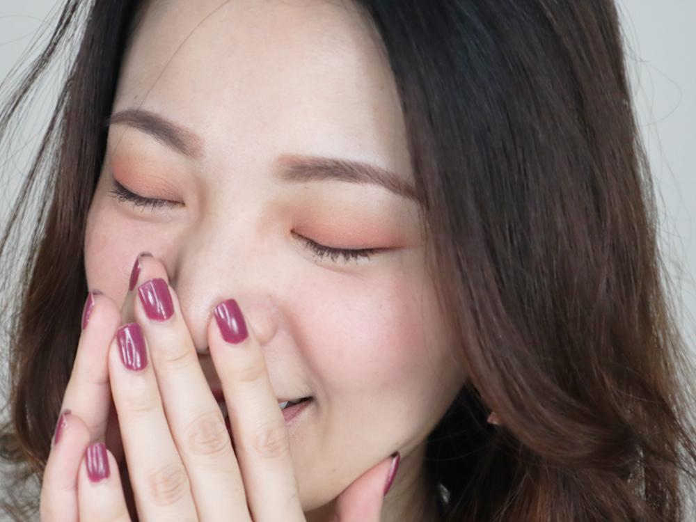 RUDE無所畏懼多功能彩盤評價-桃花妝26.jpg