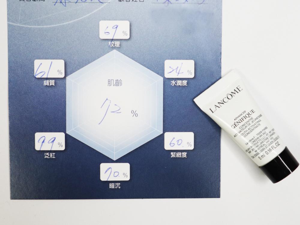 LANCOME蘭蒄-超未來肌因賦活露-全新小黑瓶-評價心得感想-肌密檢測儀肌膚檢測10.jpg