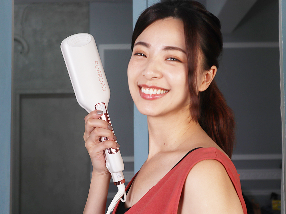 poproro嗶丁-大波浪夾-手殘電棒-蛋捲棒開箱-韓國髮型34.jpg