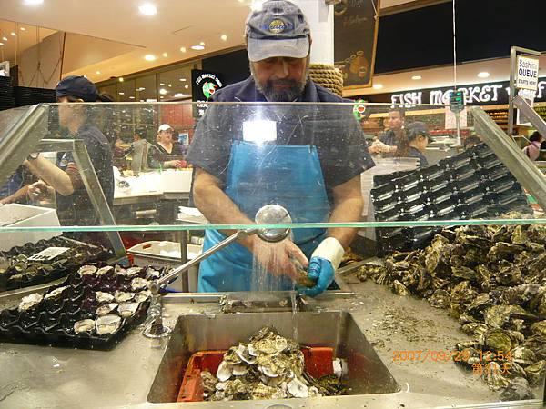 雪梨魚市場fish market